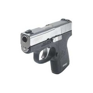 "Kahr P380 380ACP 2.5"" Barrel W/Night Sights 6+1 Black/Matte Stainless *CA Compliant* KP38233N"