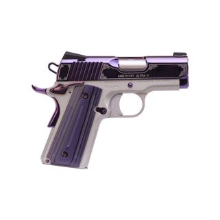 "KIMBER AMETHYST ULTRA II 9MM 3"" BARREL 8+1 STAINLESS/AMETHYST 3200319"