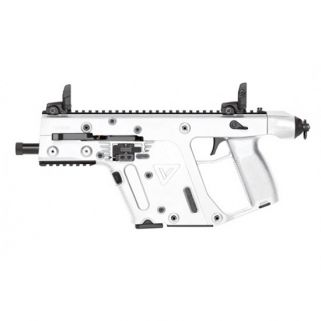 "Kriss Vector CRB Gen II 9mm 5.5"" Barrel W/ Flip-Adjustable Sights 17+1 Alpine White/Black KV90PAP20"