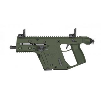 "Kriss Vector SDP Gen II 9mm 5.5"" Barrel W/ Flip-Adjustable Sights 17+1 OD Green KV90PGR20"