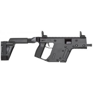 "Kriss Vector SDP-SB Gen II 9mm 5.5"" Barrel W/ Flip-Adjustable Sights 17+1 Black KV90PSBBL20"