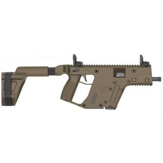 "Kriss Vector SDP-SB Gen II 9mm 5.5"" Barrel W/ Flip-Adjustable Sights 17+1 Flat Dark Earth KV90PSBFD20"