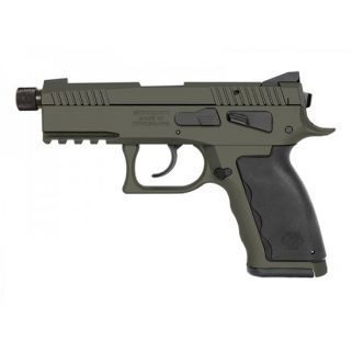 "Kriss Sphinx SDP Compact 9mm 4.35"" Barrel W/ Iron Blade Front-Serrated Fixed Rear Sights 15+1 Krypton S4WSDCME076"
