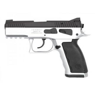 "Kriss Sphinx SDP Compact 9mm 3.7"" Barrel W/ Iron Blade Front-Serrated U Shape Rear Sights 15+1 Alpine White S4WSDCME103"