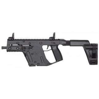 "Kriss Vector SDP-SB Gen II 9mm 5.5"" Threaded Barrel W/ Flip Up Sights 17+1 Black KV90-PSBBL20"