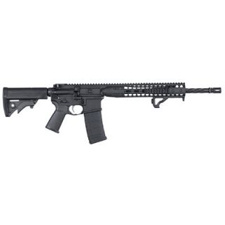 "LWRC IC DI 223 Remington/5.56NATO 16.1"" Barrel 10+1 *CA Compliant* Black ICDIR5B16CAC"