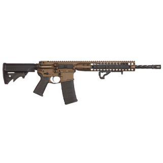 """LWRC DI 223 Remington/5.56NATO 16.1"""" Barrel 10+1 *CA Compliant* Burnt Bronze ICDIR5BB16CAC"""