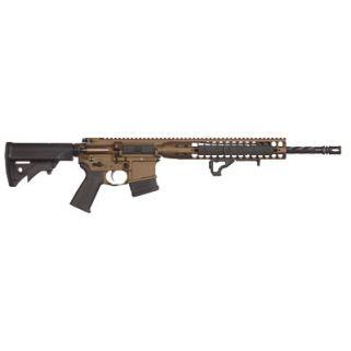 """LWRC DI 223 Remington/5.56NATO 16.1"""" Barrel 10+1 *MA/CO Compliant* Burnt Bronze ICDIR5BB16COM"""