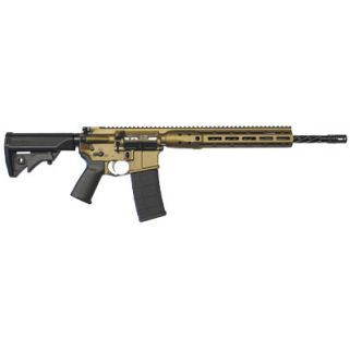 "LWRC DI M-Lok Remington/5.56NATO 16.1"" Barrel 30+1 Burnt Bronze ICDIR5BB16ML"