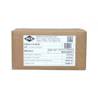 Magtech MEN M193 5.56NATO 56gr 510Rd Case MEN556A
