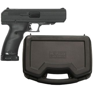 "Hi-Point Haskell 45ACP 4.5"" Barrel W/ 3 Dot Sights 9+1 Black-Hard Case Included 34513"