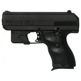 "Hi-Point C-9 9mm 3.5"" Barrel W/ 3 Dot Sights-Red Laser 8+1 Black 916LLTGM"