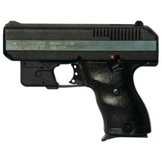 "Hi-Point Beemiller CF-380 380ACP 3.5"" Barrel W/ 3 Dot Sights-Red Laser 8+1 Black-Chrome Rail CF380LLTGM"