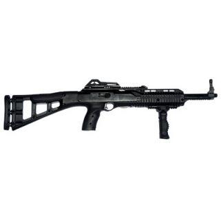 "Hi-Point Carbine 380ACP 16.5"" Barrel W/ Adjustable Sights 10+1 Skeletonized Stock-Forward Grip Black 3895TSFG"
