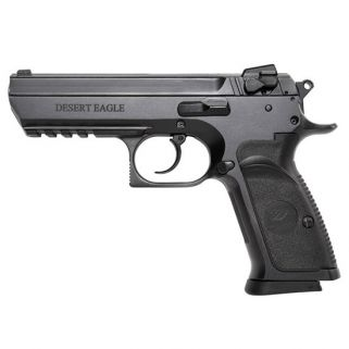 """Magnum Research Baby Desert Eagle III 9mm 4.43"""" Barrel W/ Fixed 3 White Dot Sights 16+1 Black BE99153R"""