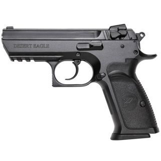 """Magnum Research Baby Desert Eagle III Semi Compact 9mm 4.43"""" Barrel W/ Fixed 3 White Dot Sights 16+1 Black BE99153RS"""
