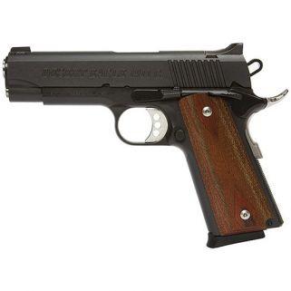 "Magnum Research 1911 C Model Desert Eagle 45ACP 4.33"" Barrel W/ High Profile Sculptured Rear-Pinned Front Sights 8+1 Black DE1911C"