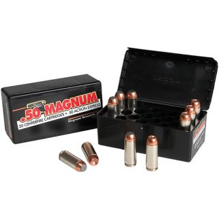 Magnum Research ATK 50AE 350 Grain JSP 20 Round Box DEP50JSP350B