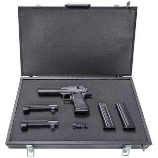 """Magnum Research Mark XIX Component 44 Remington Magnum/50AE/357 Remington Magnum 6"""" Barrel W/ Adjustable Sights 7Rd/8Rd/9Rd Black DEXIX6"""