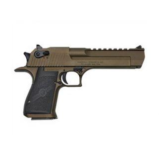 """Magnum Research Mark XIX Component 44 Magnum/357 Magnum/50AE 6"""" Barrel W/ Combat-Fixed Sights Burnt Bronze DEXIX6BB"""