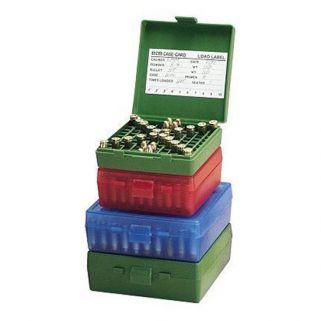 MTM PISTOL FLIPTOP 100RD BOX GRN 9MM/380