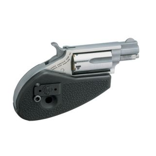 "NAA Mini Revolver Holster Grip 22 Magnum 1.125"" Barrel W/ Half-Moon Sight 5Rd Stainless 22MS-HG"