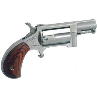 "NAA Sidewinder 22 Magnum 1.5"" Barrel 5Rd Rosewood Grip/Stainless NAA-SW"