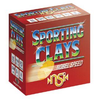 NOBEL SPEED SPORT CLAY 12GA 2.75 1OZ #8