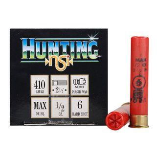 NOBEL SPORT HUNTING 2.5 410GA 1/2OZ #6