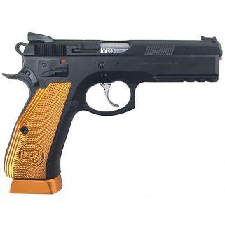 "CZ 75 SP-01 Custom 9mm 4.61"" Barrel 17+1 (3 magazines) Shadow Orange 91764"