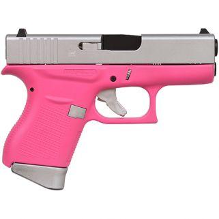 "Glock 43 Gen 3 9mm 3.39"" 6+1 FS Pink PI4350201PPSA"