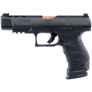 "Walther PPQ M1 9mm 5"" Barrel 15+1 Bronze 2826721"