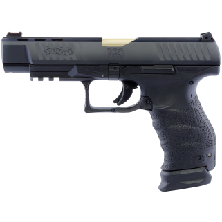 "Walther PPQ M1 9MM 5"" Barrel White Gold 15+1 2826721"