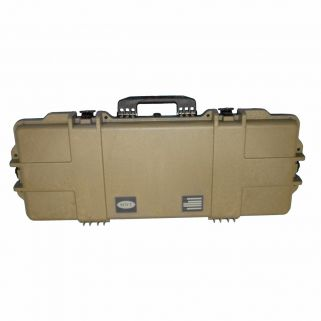 Boyt H36 Single Rifle Hard Side Travel Case Flat Dark Earth 42108