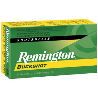 "Remington Express Buckshot 12 Gauge 000 Buck 2.75"" 5 Round Box 12B000"