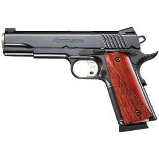 "Remington 1911 Carry 45ACP 5"" Barrel W/ Novak Night Sights 5+1 Cocobolo Grips 96332"