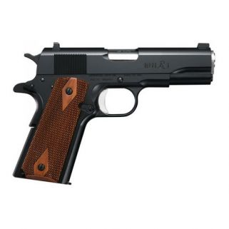 "Remington 1911 R1 Enhanced 45ACP 4.25"" Barrel 7+1 Walnut Grips/Black 96336"