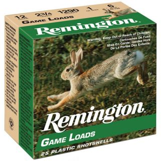 "Remington Lead Game Load 16 Gauge 6 Shot 2.75"" 25 Round Box GL166"