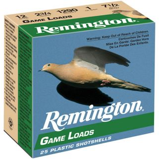 "Remington Lead Game Load 16 Gauge 7.5 Shot 2.75"" 25 Round Box GL1675"