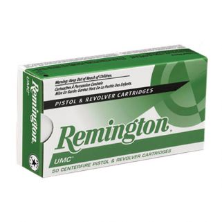 Remington UMC 40S&W 180 Grain Brass 50 Round Box L40SW3
