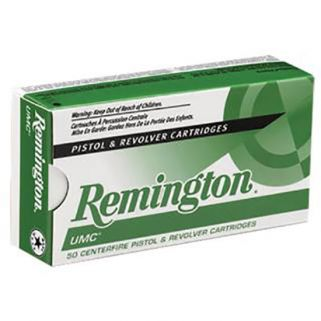 Remington UMC 9mm 124 Grain Brass 50 Round Box L9MM2