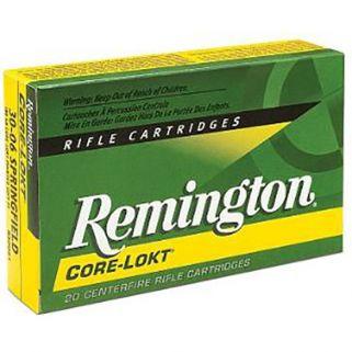 Remington Core-Lokt 30-06 Springfield 220 Grain Brass 20 Round Box R30067
