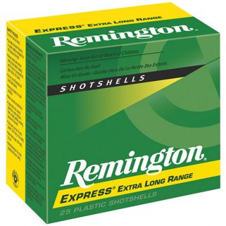 "Remington Express 12 Gauge 4 Shot 2.75"" 25 Round Box SP124"