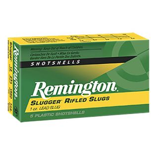 "Remington Slugger 16 Gauge Slug Shot 2.75"" 5 Round Box SP16RS"