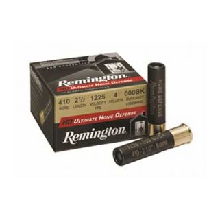"Remington Ultimate Home Defense 410 Gauge 000 Buck 2.5"" 15 Round Box 20697"