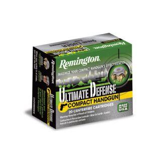 Remington Compact Handgun Dfense 380ACP 102 Grain Brass 20 Round Box 28964