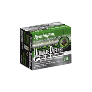 Remington Ultimate Defense 45ACP 185 Grain Brass 20 Round Box 28973