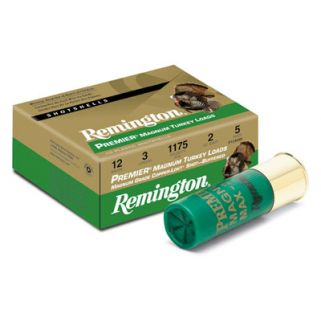 "Remington Premier Magnum turkey Loads 12 Gauge 4 Shot 3"" 10 Round Box 26835"