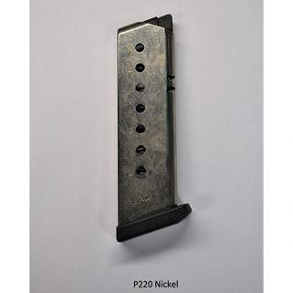 Rock Island Armory Sig P220 45ACP Magazine 8Rd Nickel 44522