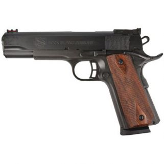 "Rock Island Armory 1911 Pro Match Ultra 45ACP 5"" Barrel W/ Dovetail Front-Adjustable Rear Sights 8+1 Checkered Wood/Parkerized 51434"